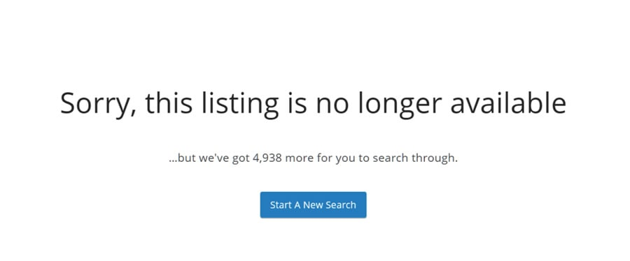404 Errors and IDX Listing Pages Explained