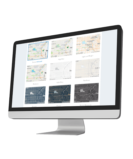 IDX WordPress Plug - customize mapping look