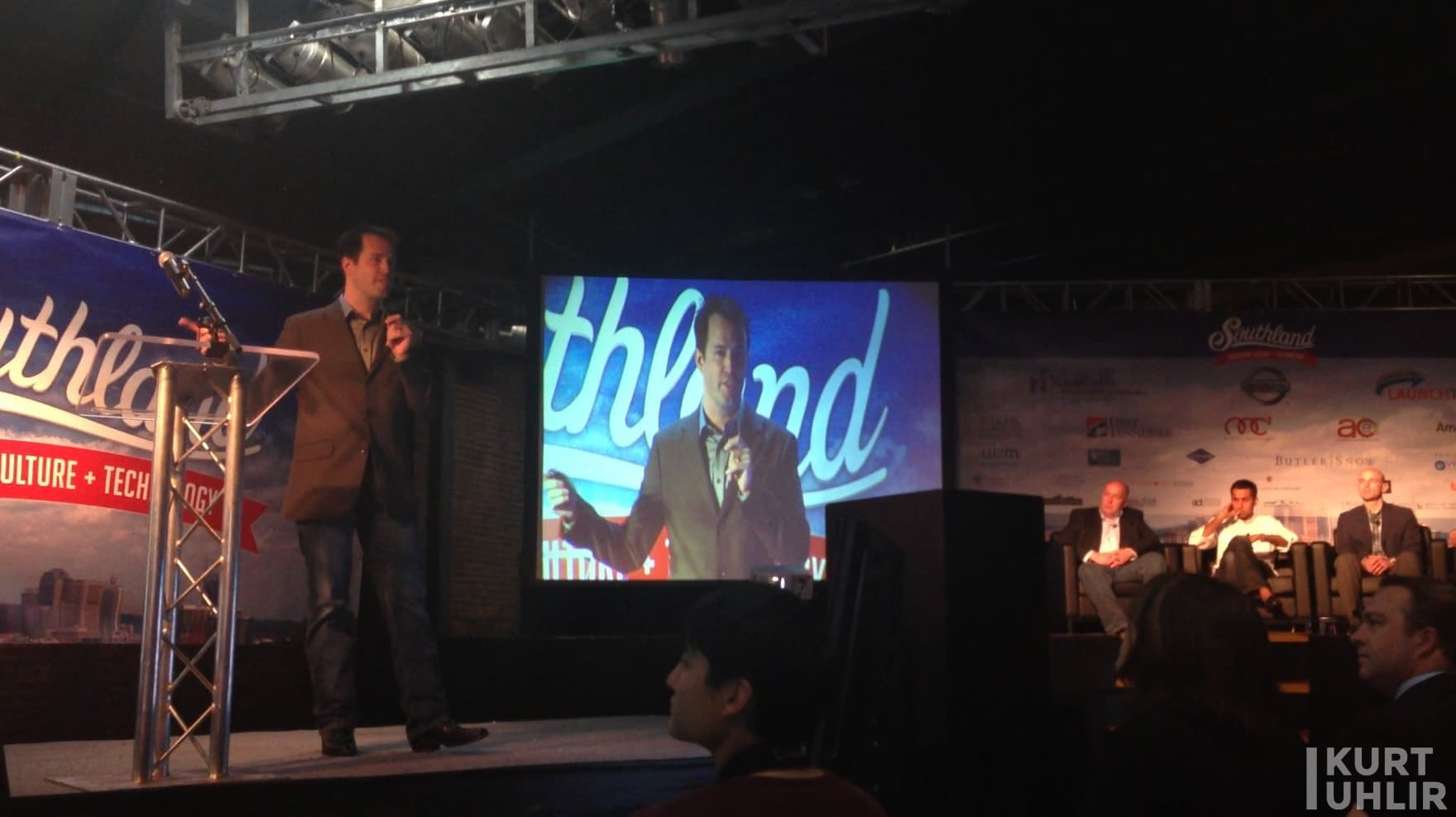 Kurt speaking to venture capitalists at Southland by LaunchTN.