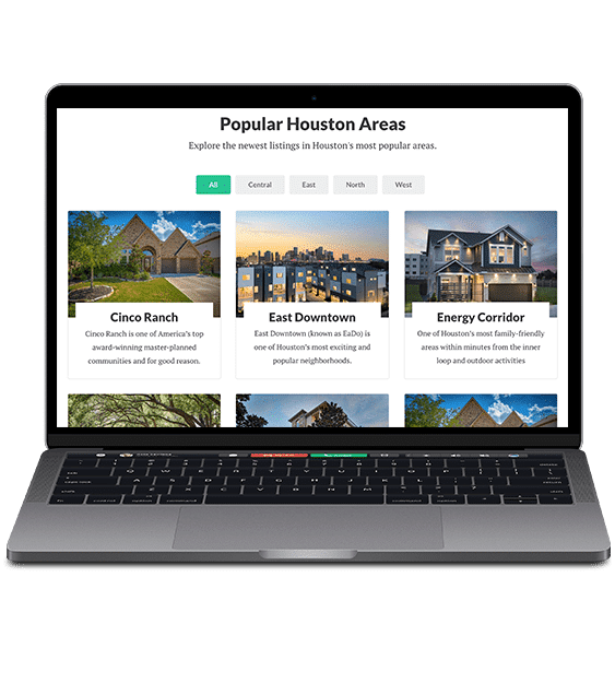 Real estate agent website hotsheets - Showcase IDX