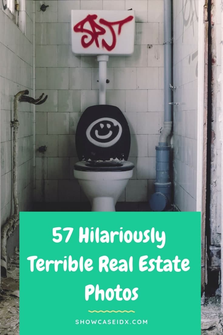 Terrible Real Estate Photos pin