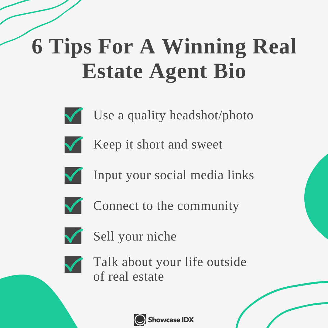 Tips for writing a real estate agent bio
