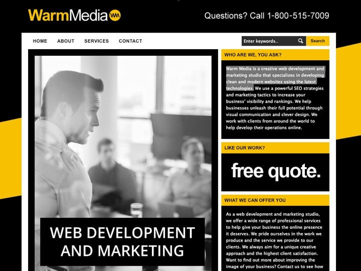 warm-media-real-estate-website-development