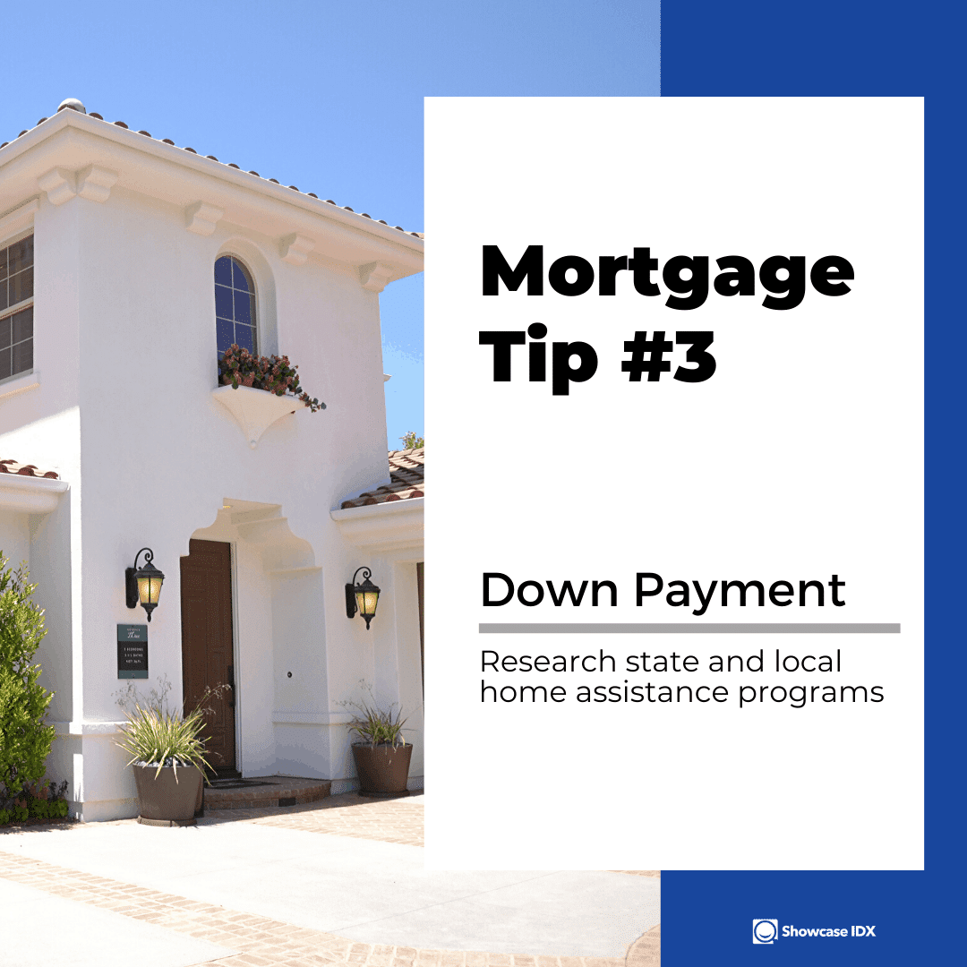 mortgage tips 3 research state and local home assistance programs