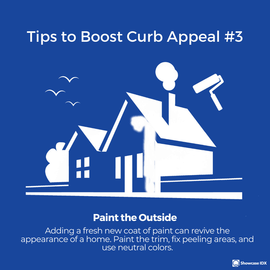 real estate infographic Tips to boost curb appeal 3