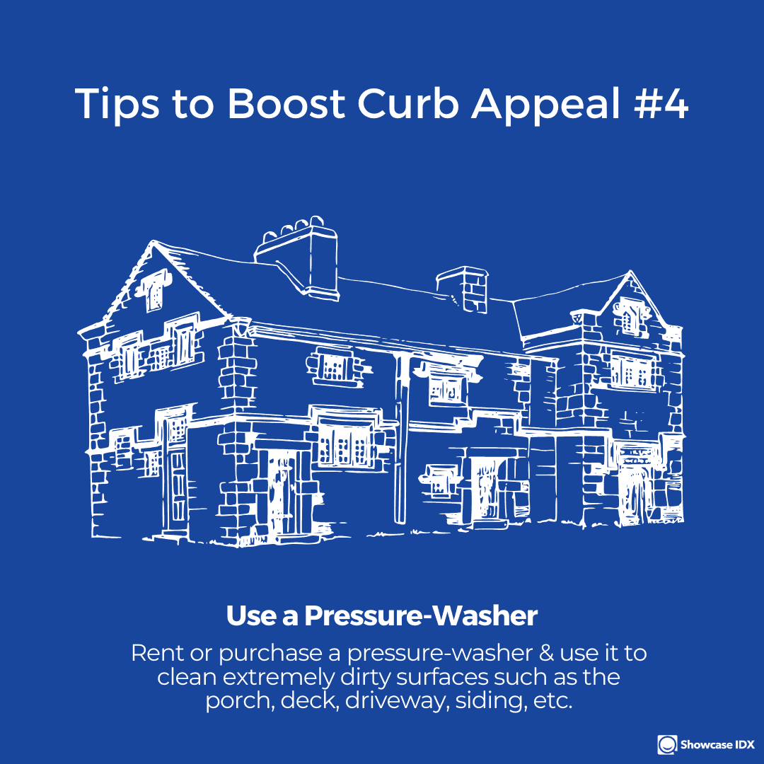 real estate infographic Tips to boost curb appeal 4