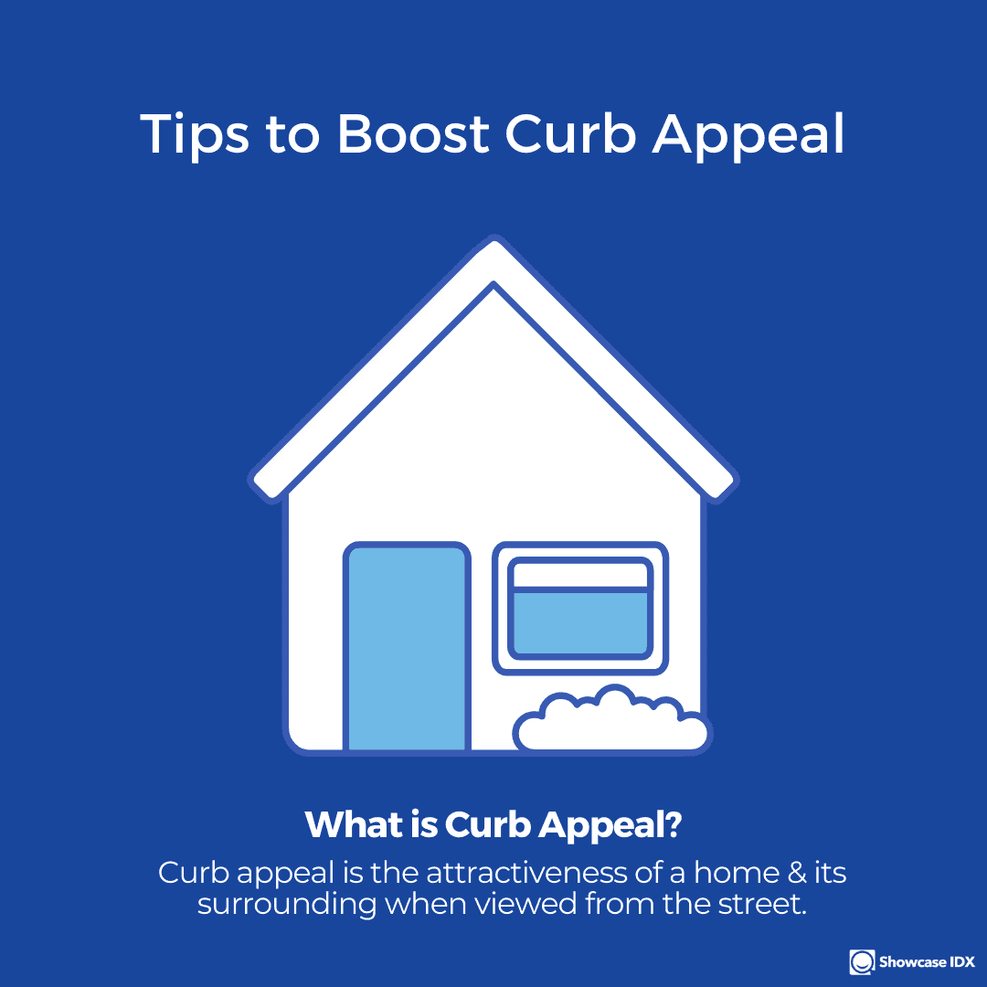 real estate infographic Tips to boost curb appeal