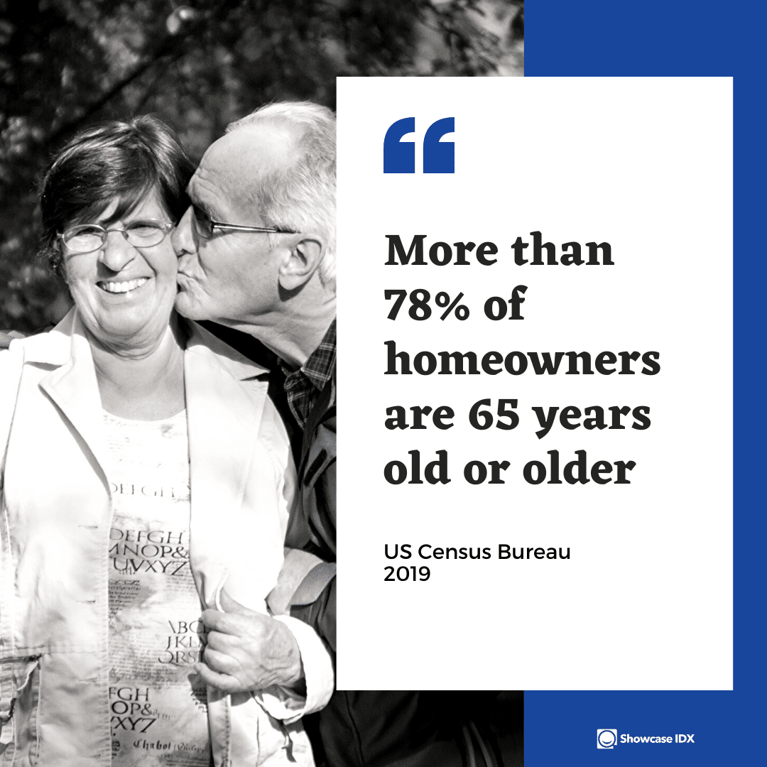 real estate statistics more than 78 of homeowners are 65 years old or older