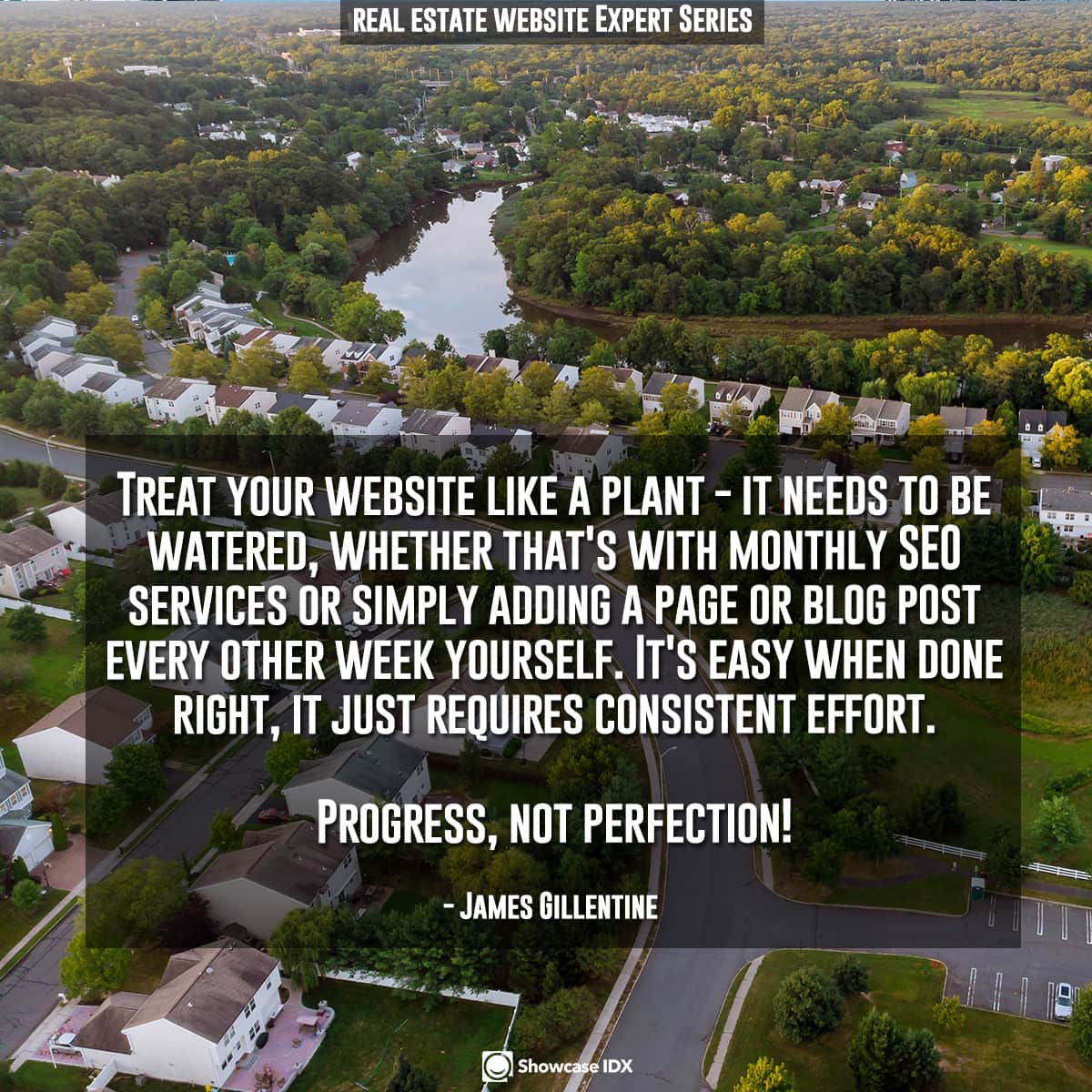 Treat your website like a plant - it needs to be watered, whether that's with monthly SEO services or simply adding a page or blog post every other week yourself. It's easy when done right, it just requires consistent effort. Progress, not perfection!
