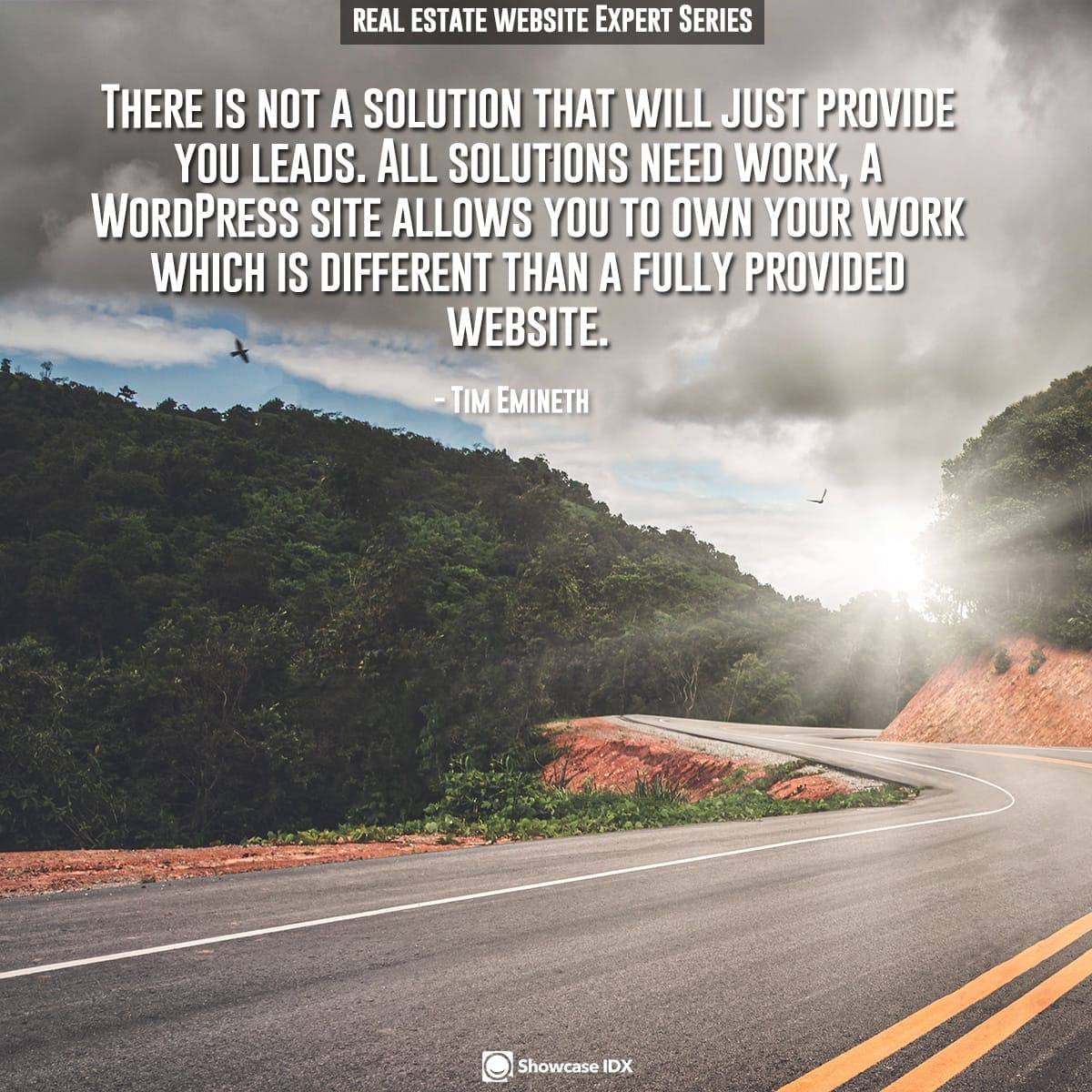 There is not a solution that will just provide you leads. All solutions need work, a WordPress site allows you to own your work which is different than a fully provided website.