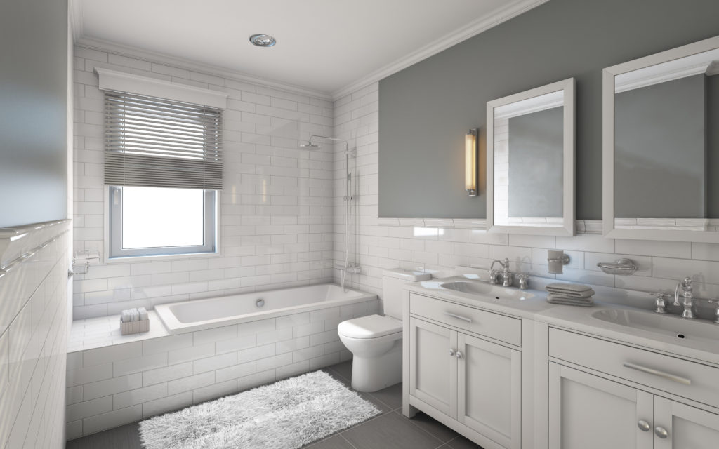 example of a bathroom real estate photo